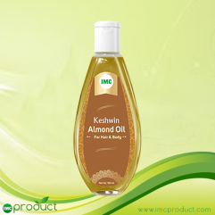 KESHWIN ALMOND OIL FOR HAIR AND BODY
